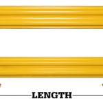 ValueRail Pro Guard Rail Lengths