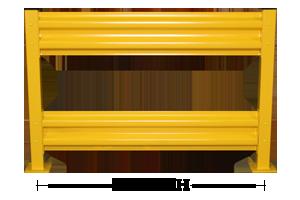 ValueRail Pro Guard Rail Lengths
